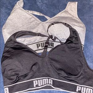 Puma sports bras XL